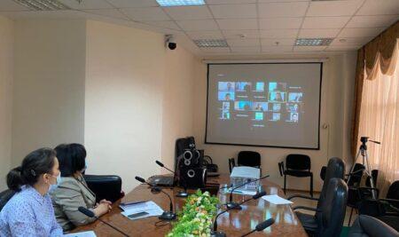 Онлайн-заседание Центральной экспертно-проверочной комиссии